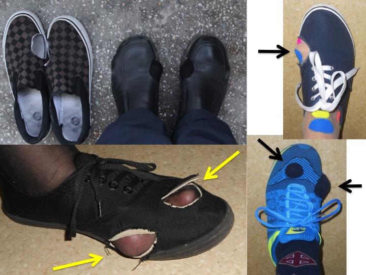 Pantof taiat