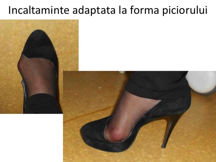 Pantof taiat prez 2